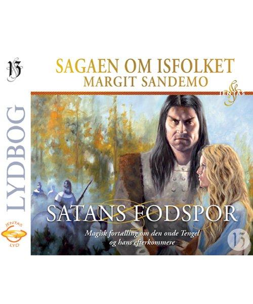 Billede af Isfolket 13 - Satans Fodspor - Margit Sandemo - Cd Lydbog