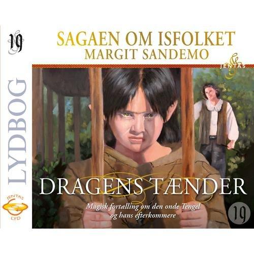 Isfolket 19 - Dragens Tænder - Margit Sandemo - Cd Lydbog