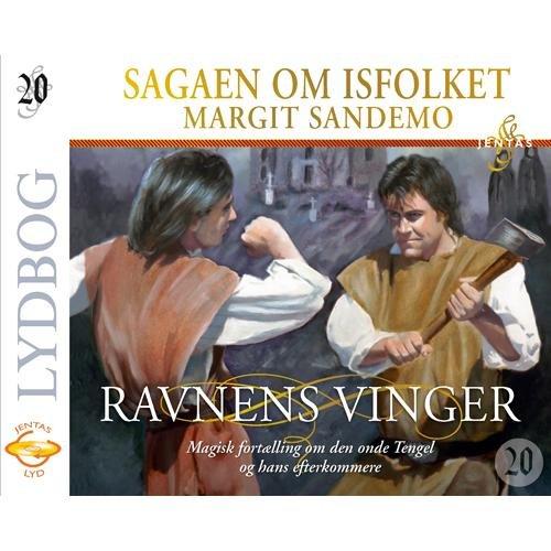 Isfolket 20 - Ravnenes Vinger - Margit Sandemo - Cd Lydbog