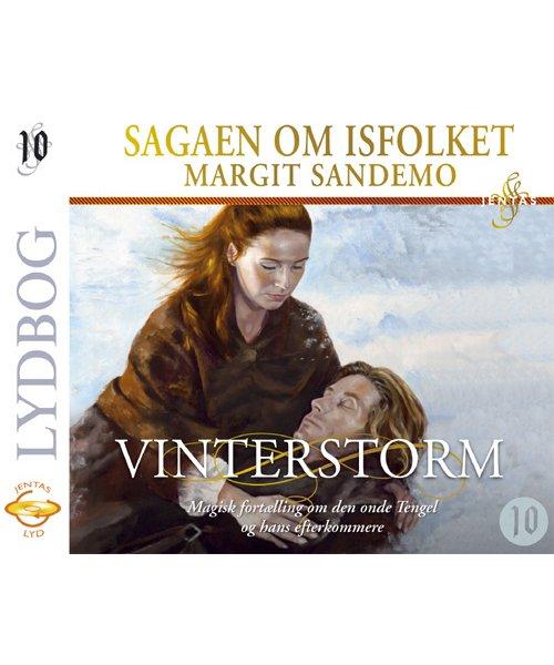 Billede af Isfolket 10 - Vinterstorm - Margit Sandemo - Cd Lydbog