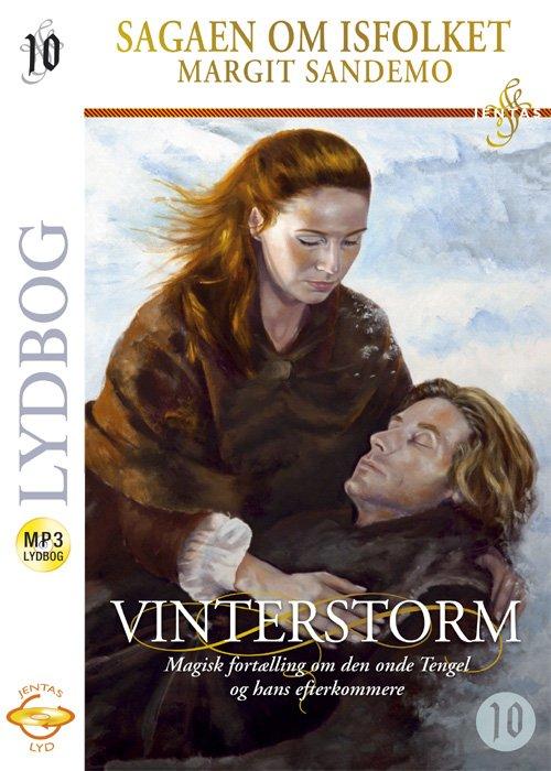 Image of   Isfolket 10 - Vinterstorm, Mp3 - Margit Sandemo - Cd Lydbog