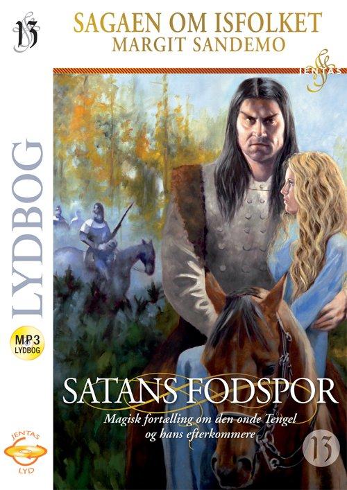 Billede af Isfolket 13 - Satans Fodspor, Mp3 - Margit Sandemo - Cd Lydbog