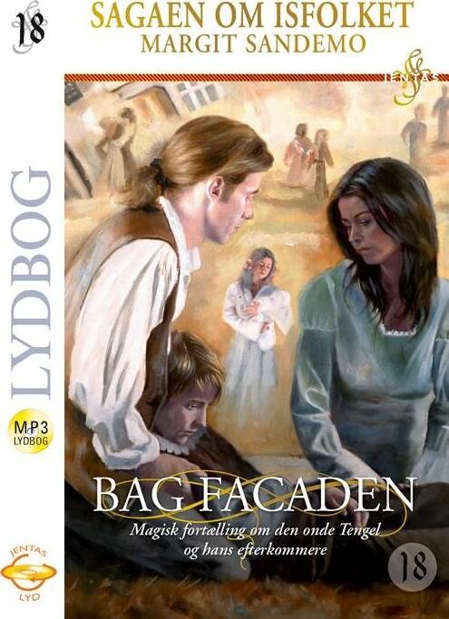 Billede af Isfolket 18 - Bag Facaden, Mp3 - Margit Sandemo - Cd Lydbog