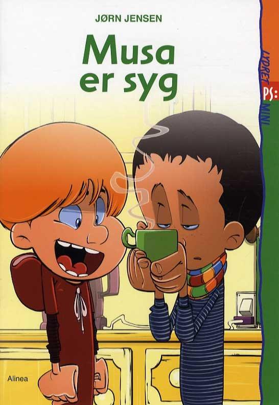 Image of   Lydret Ps Mini, Musa Er Syg - Jørn Jensen - Bog