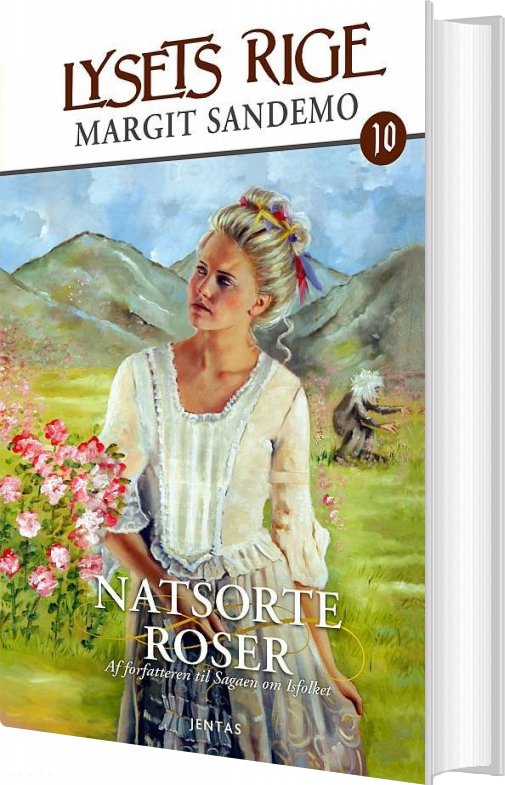 Lysets Rige 10 - Natsorte Roser - Margit Sandemo - Bog