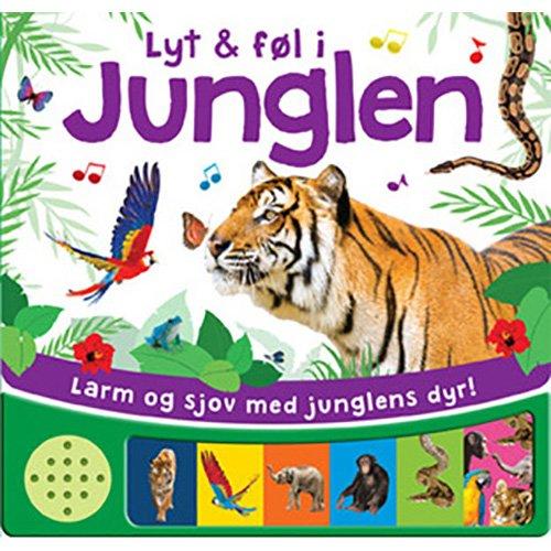 Lyt Og Føl I Junglen - Bog