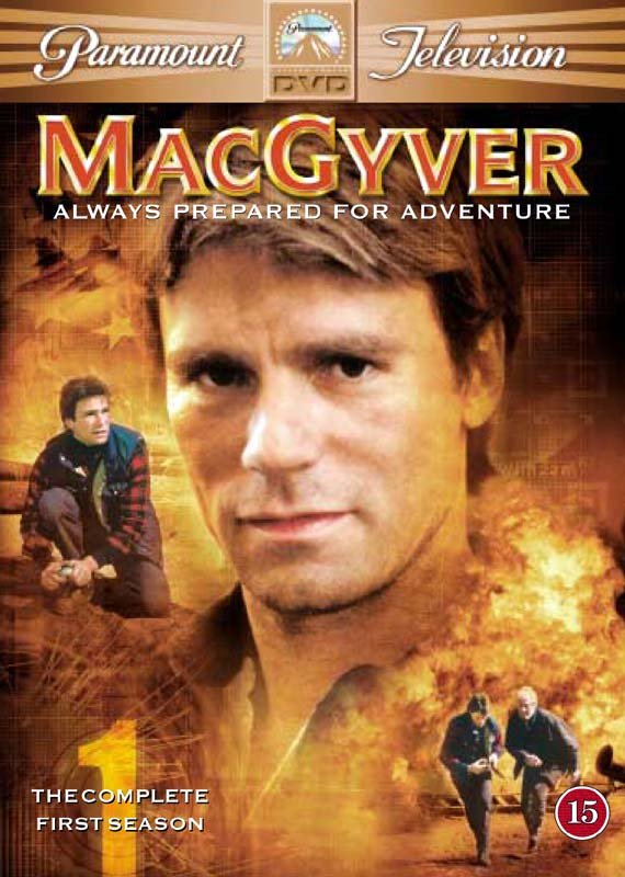 Image of   Macgyver - Sæson 1 - DVD - Tv-serie