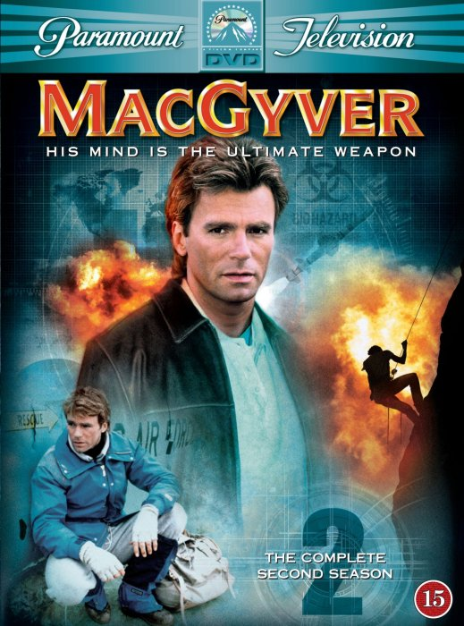Image of   Macgyver - Sæson 2 - DVD - Tv-serie