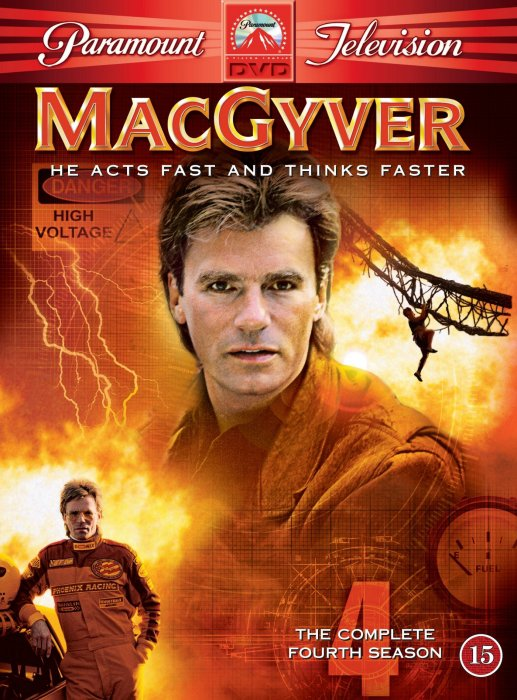 Image of   Macgyver - Sæson 4 - DVD - Tv-serie