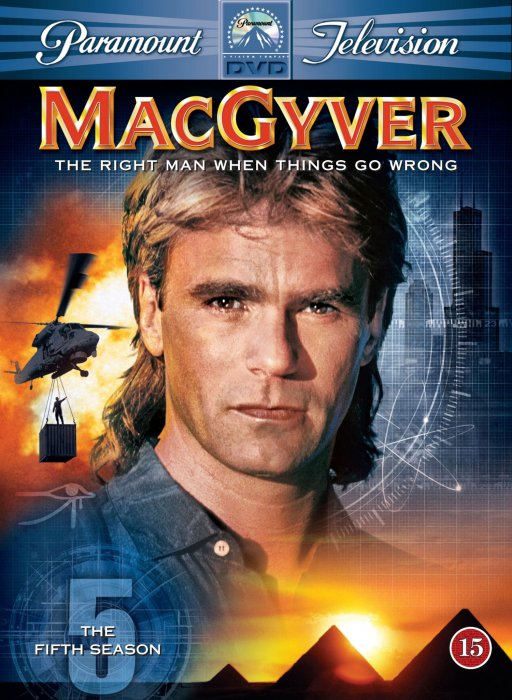 Image of   Macgyver - Sæson 5 - DVD - Tv-serie