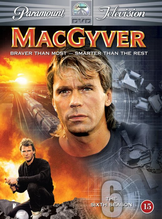 Image of   Macgyver - Sæson 6 - DVD - Tv-serie