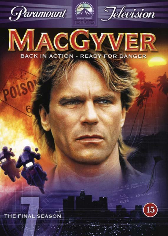 Image of   Macgyver - Sæson 7 - DVD - Tv-serie