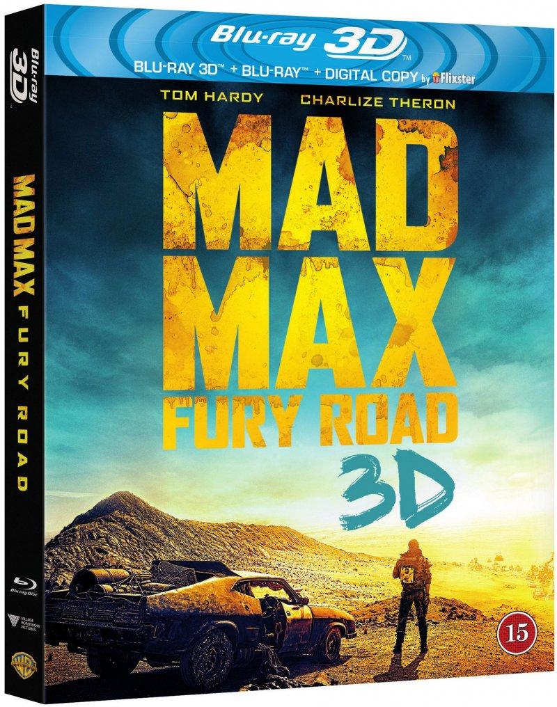 Billede af Mad Max 4 - Fury Road - 3D Blu-Ray
