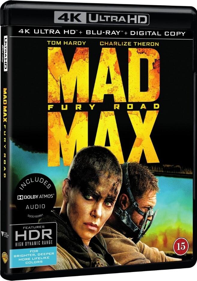 Image of   Mad Max 4 - Fury Road - 4K Blu-Ray