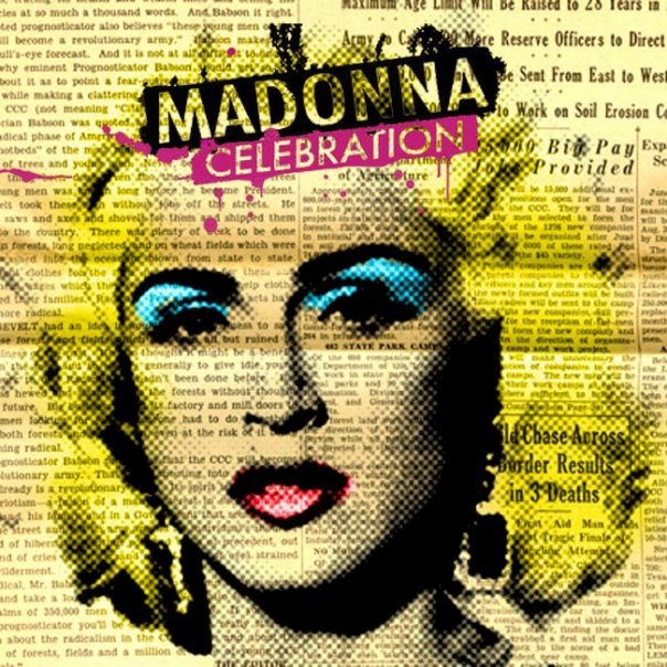 Image of   Madonna - Celebration - The Ultimate Greatest Hits - CD