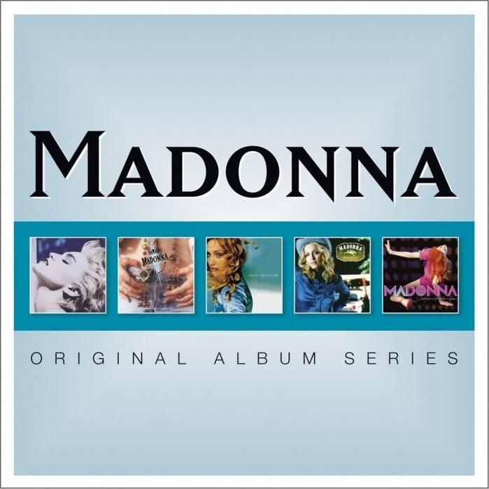 Image of   Madonna - Original Album Series - CD