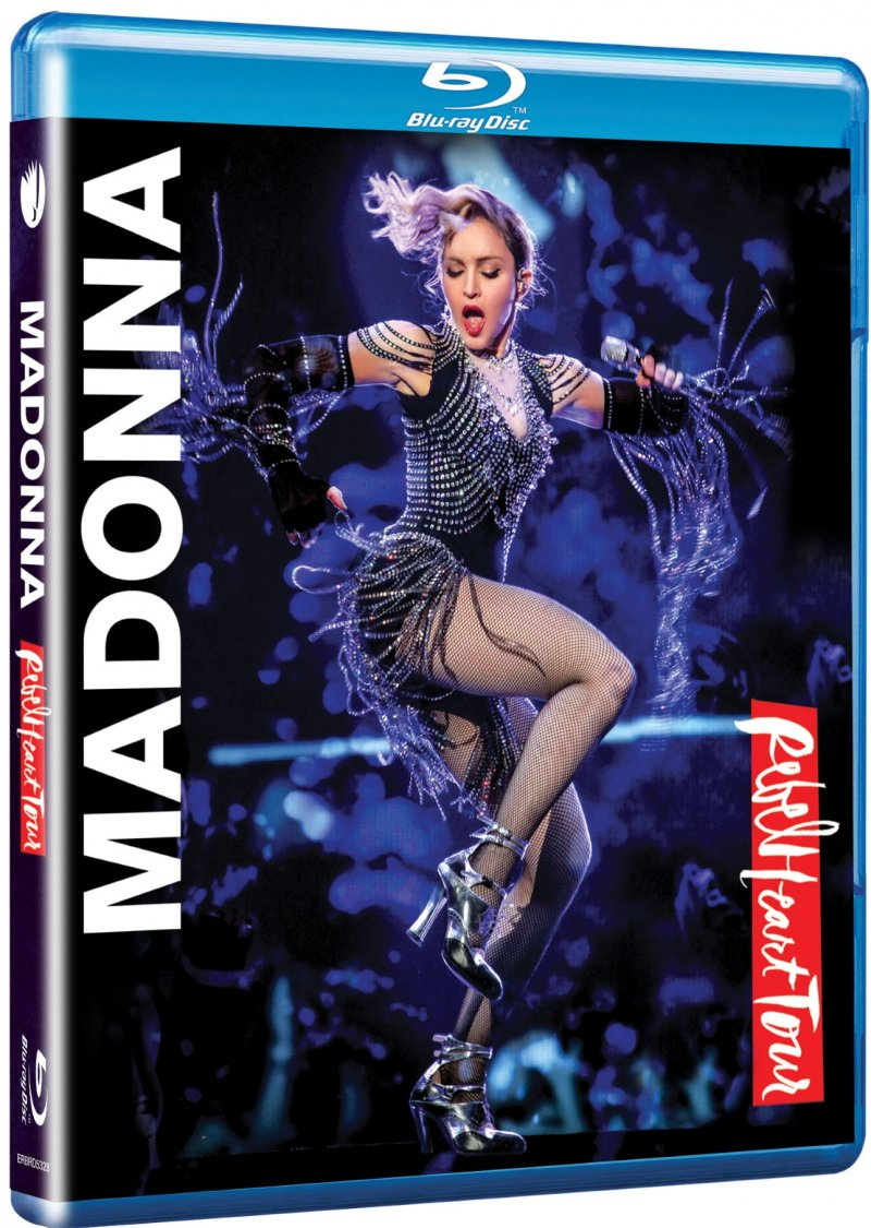 Image of   Madonna: Rebel Heart Tour - Blu-Ray