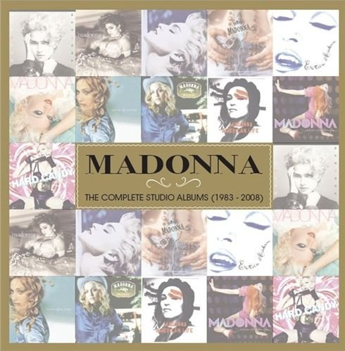 Image of   Madonna - The Complete Studio Albums 1984-2008 - CD
