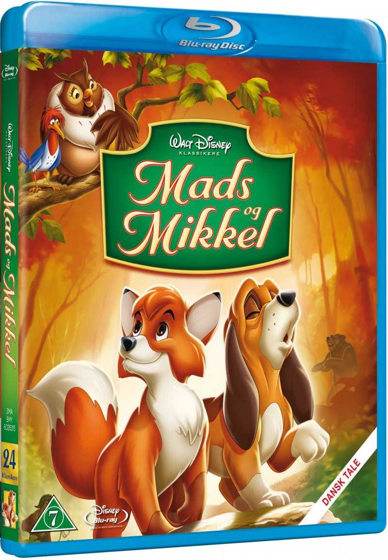 Image of   Mads Og Mikkel - Disney - Blu-Ray