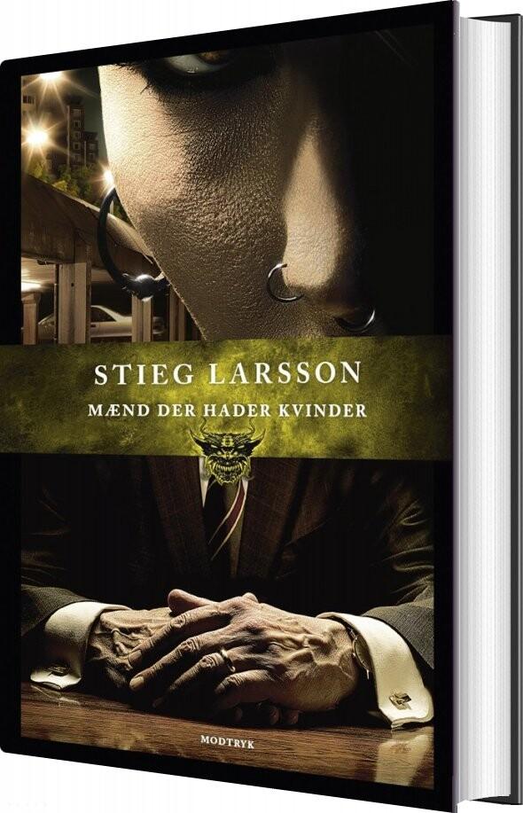 Mænd Der Hader Kvinder - Stieg Larsson - Bog