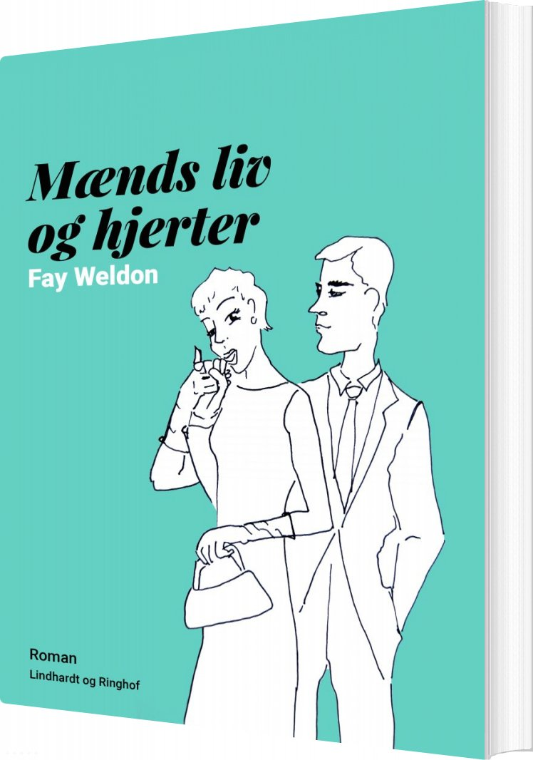 Image of   Mænds Liv Og Hjerter - Fay Weldon - Bog