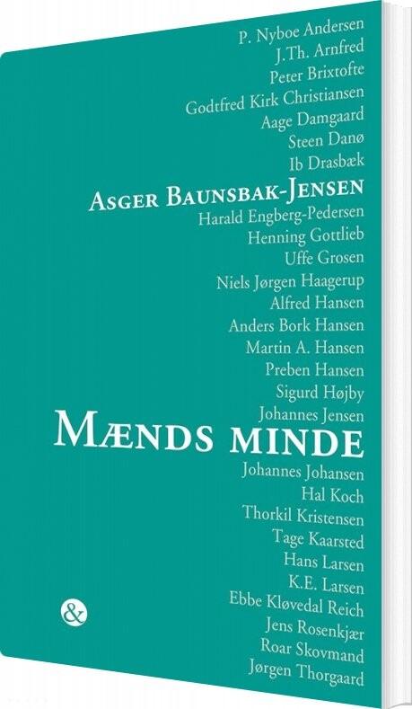 Image of   Mænds Minde - Asger Baunsbak-jensen - Bog