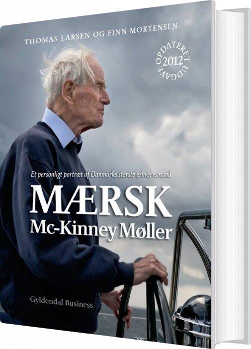 Image of   Mærsk Mc-kinney Møller - Finn Mortensen - Bog