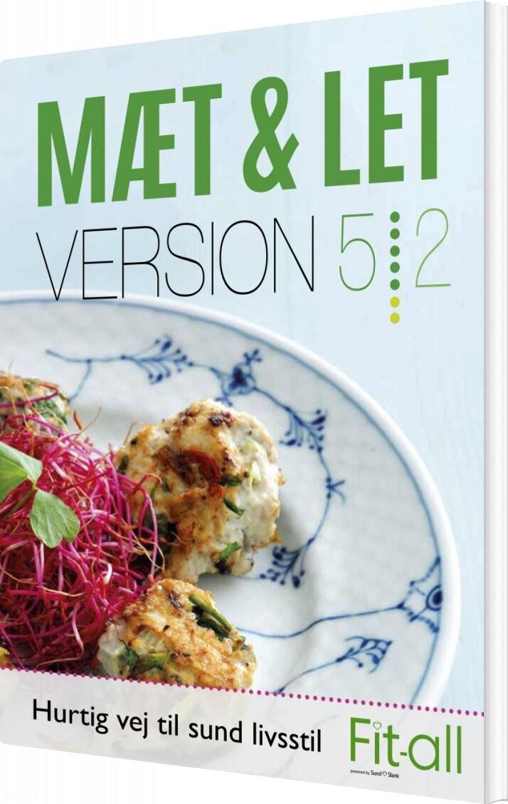 Mæt & Let Version 5:2 - Lene Hansson - Bog