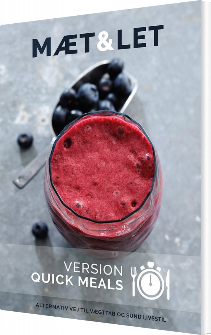 Mæt & Let Version Quick Meals - Lene Hansson - Bog