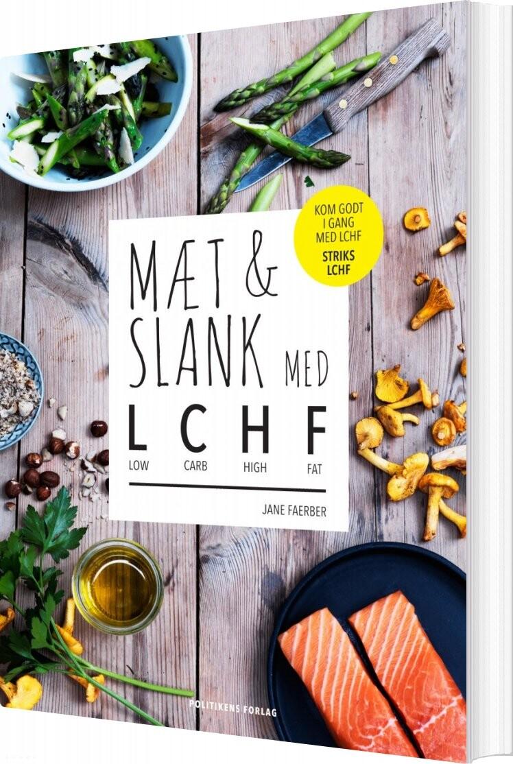 Mæt & Slank Med Lchf - Jane Faerber - Bog