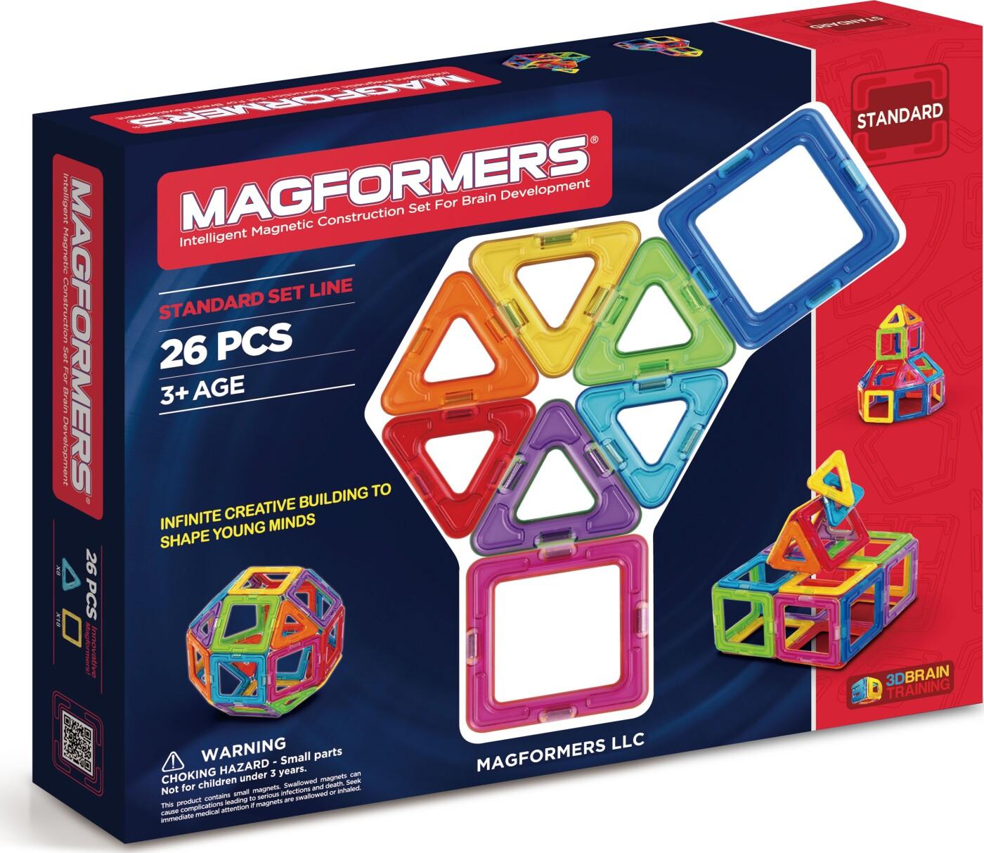 Magformers Magneter - 26 Dele