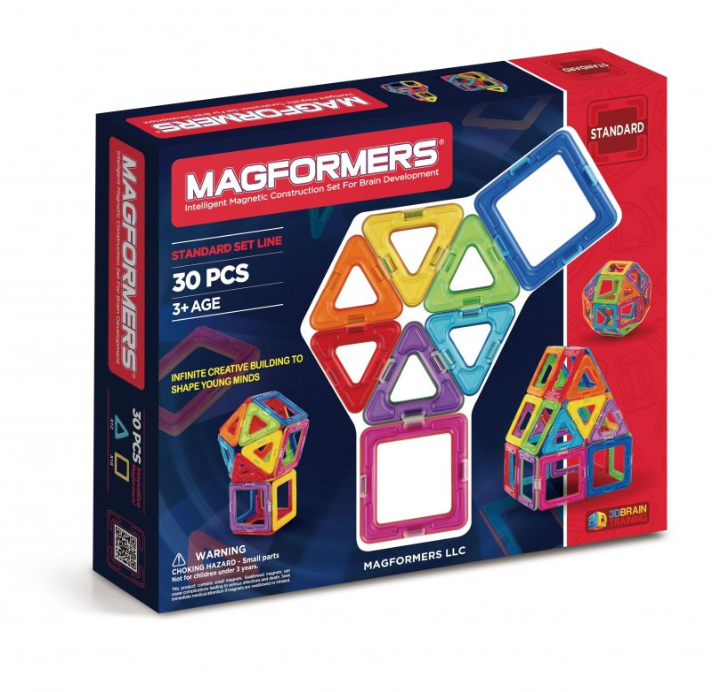 Magformers Magneter - 30 Dele