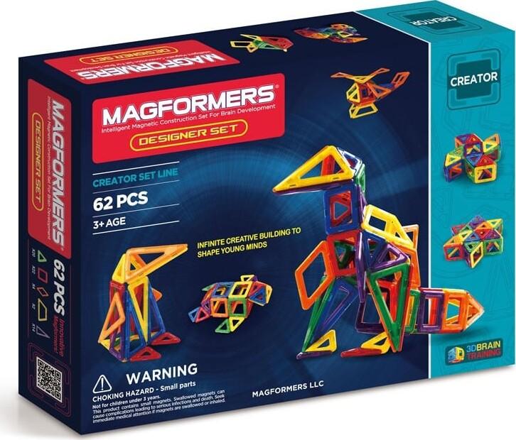 magformer, magnet legetøj, legetøj med magneter, magnetisk, mag formers, megaformers, macformers, tilbud, udsalg