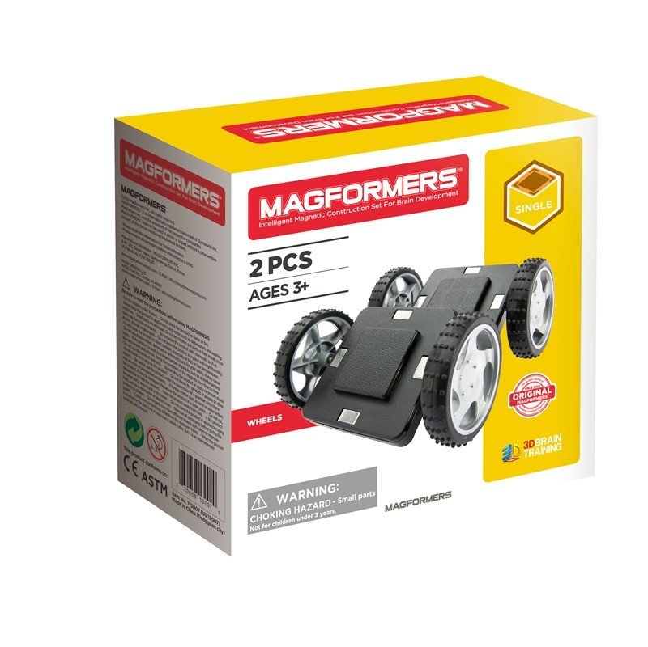 Magformers Wheel Set - 2 Dele