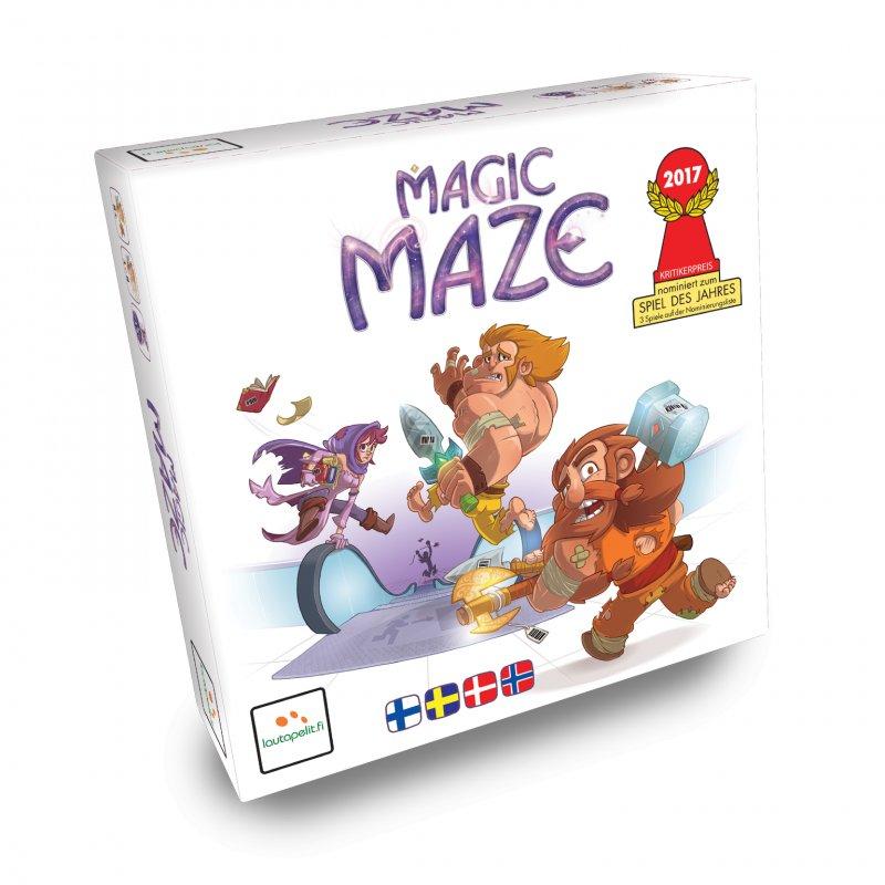 Magic Maze - Brætspil - Nordisk