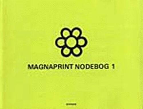Image of   Magnaprint Nodebog 1 (grøn) - Bog
