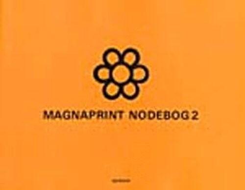 Image of   Magnaprint Nodebog 2 (orange) - Bog
