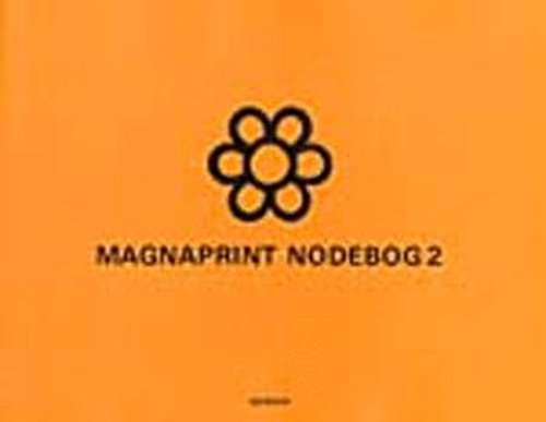 Image of   Magnaprint Nodebog 2 (orange) - Diverse - Bog