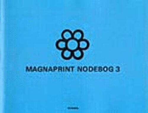 Image of   Magnaprint Nodebog 3 (blå) - Diverse - Bog