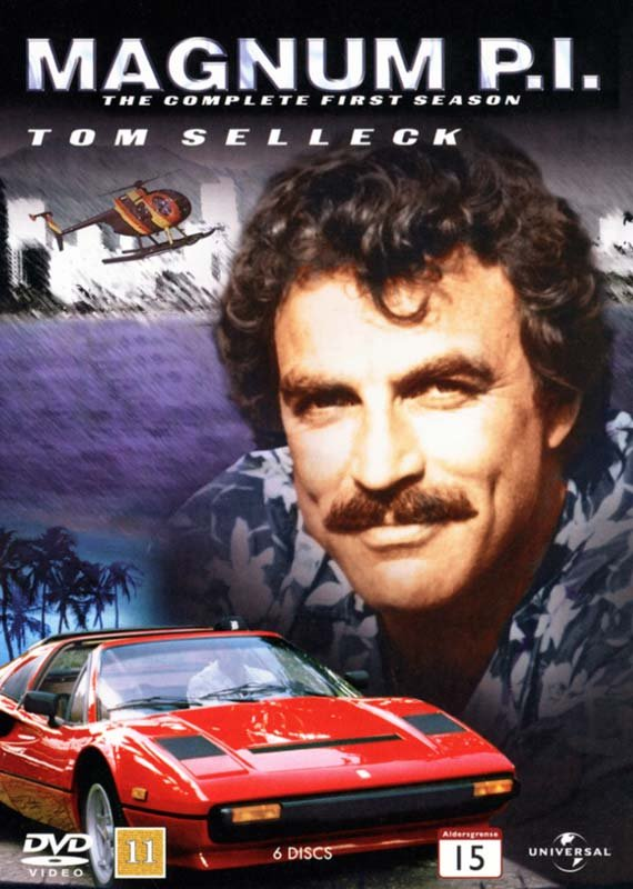 Image of   Magnum P.i. - Sæson 1 - DVD - Tv-serie