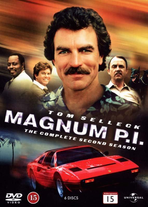 Image of   Magnum P.i. - Sæson 2 - DVD - Tv-serie