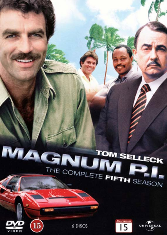 Image of   Magnum P.i. - Sæson 5 - DVD - Tv-serie