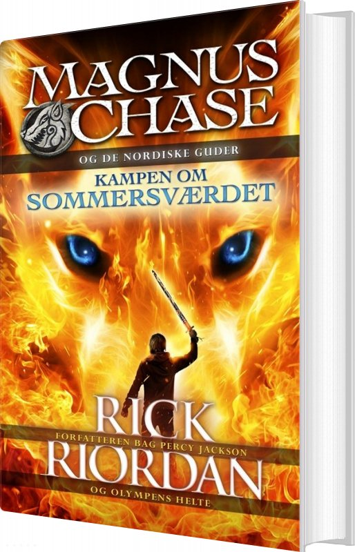 Image of   Magnus Chase Og De Nordiske Guder 1 - Rick Riordan - Bog