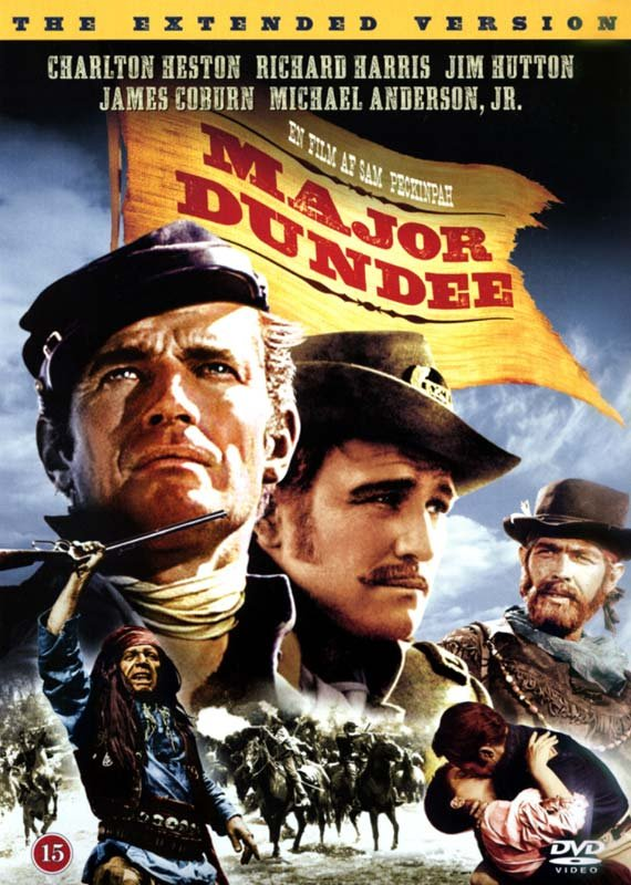 Image of   Major Dundee - Extended Version - DVD - Film