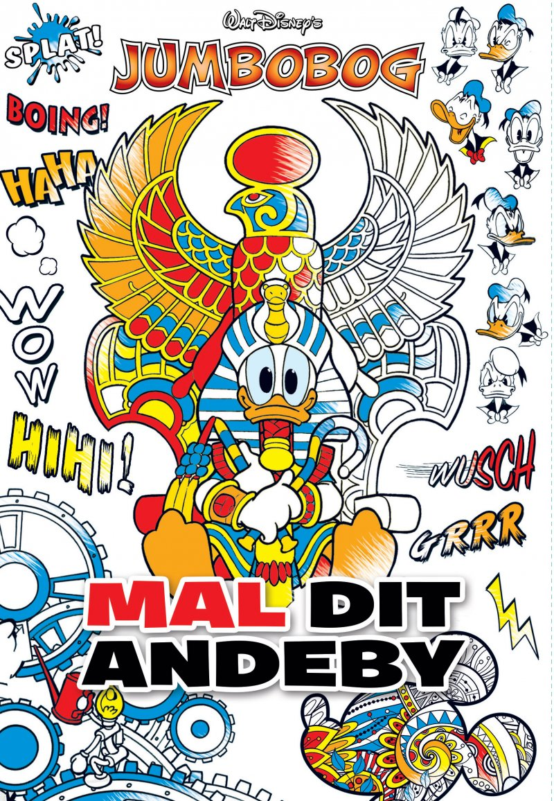 Image of   Jumbobog - Mal Dit Andeby - Disney - Tegneserie