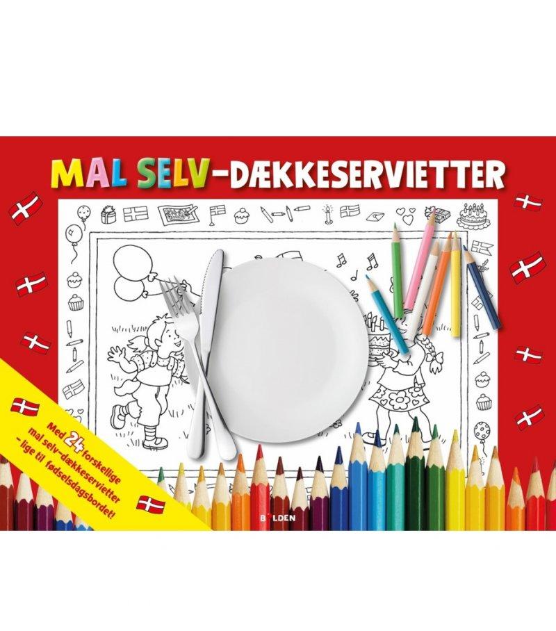 fødselsdag, male, tegne, kreativ, borddækning