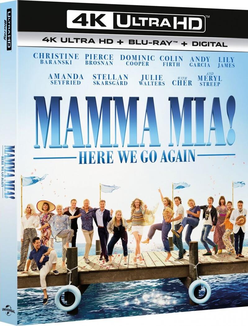 Mamma Mia 2 - Here We Go Again - 4K Blu-Ray
