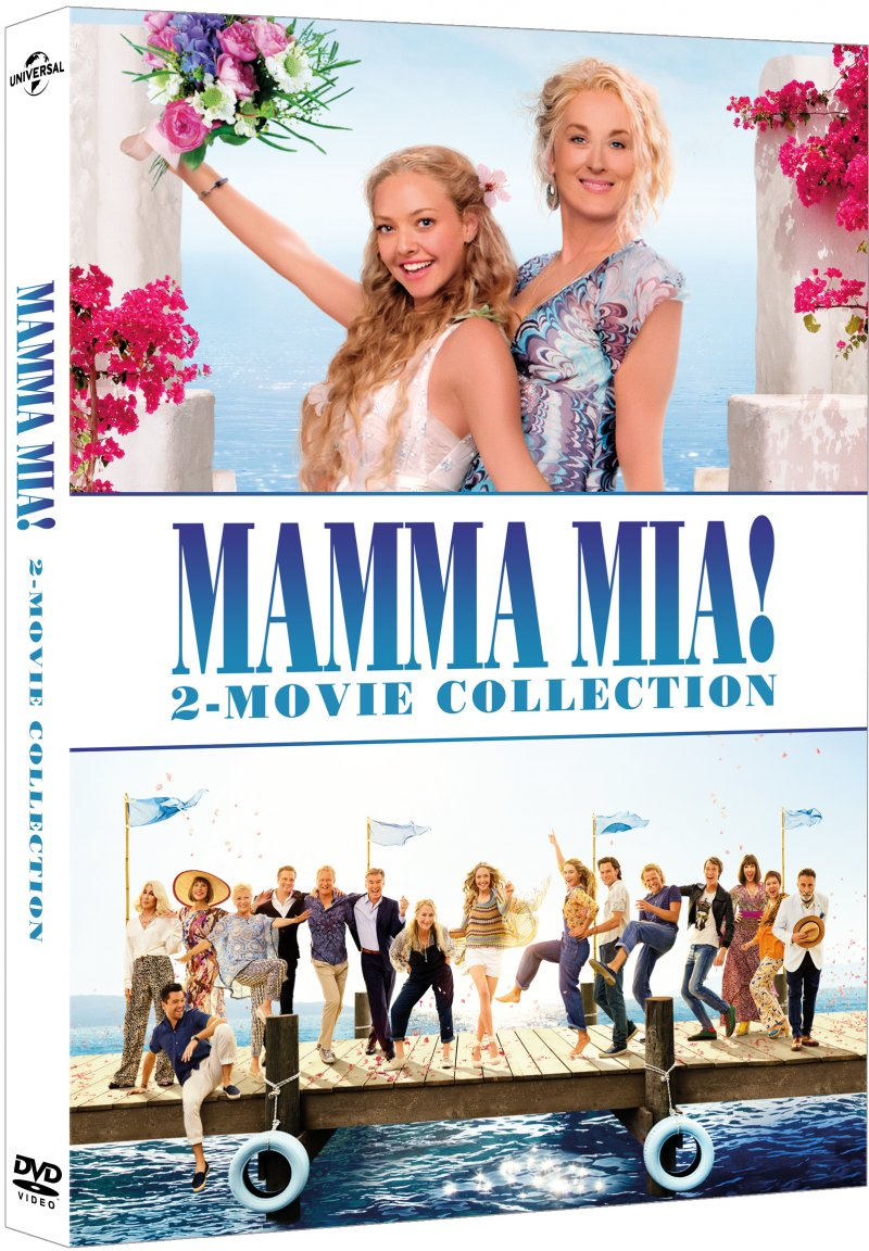 Billede af Mamma Mia 1 - The Movie // Mamma Mia 2 - Here We Go Again - DVD - Film