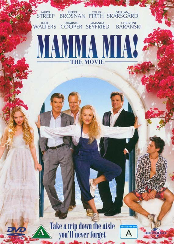 Billede af Mamma Mia 1 - The Movie - DVD - Film