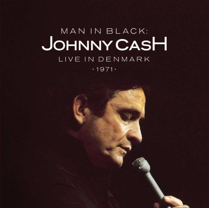 Image of   Johnny Cash - Man In Black - Live In Denmark 1971 - CD